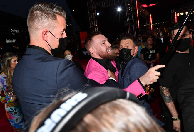 It's reported that McGregor went for MGK