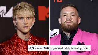 MGK and McGregor shocked fans