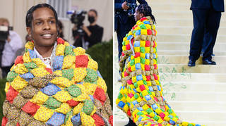 ASAP Rocky was compared to 'Captain Crunch'.