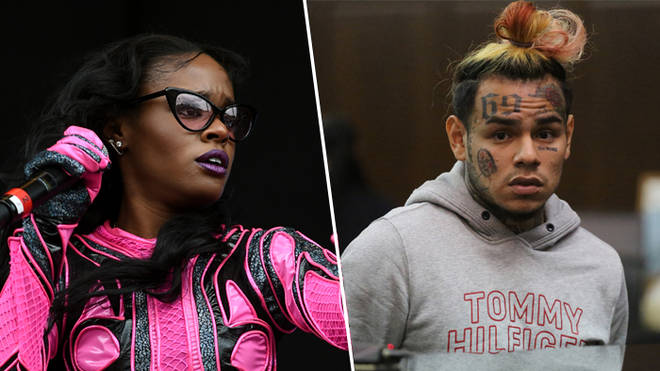Azealia Banks and Tekashi 6ix9ine Dummy Boy Leak