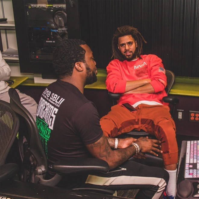 Meek Mill and J. Cole