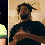 Cole dropped a surprise freestyle