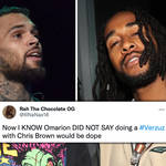 Chris Brown fans react to Omarion wanting to go against him in a 'Verzuz' battle