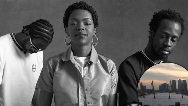 The Fugees 'The Score 25th Anniversary Tour' live concert at the London O2