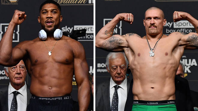 Anthony Joshua VS Oleksandr Usyk fight: How to watch, livestream, times & more