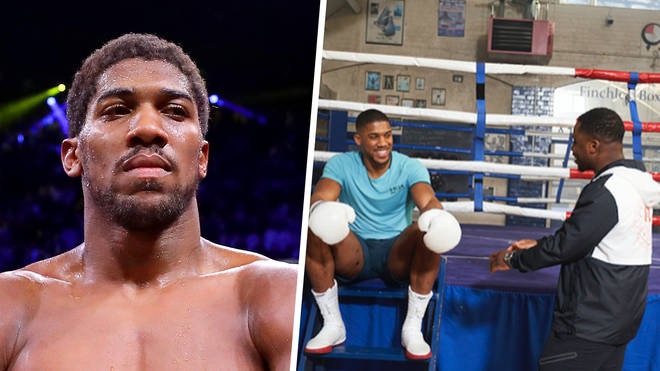 What song will Anthony Joshua use for his ring walk before Oleksandr Usyk fight?