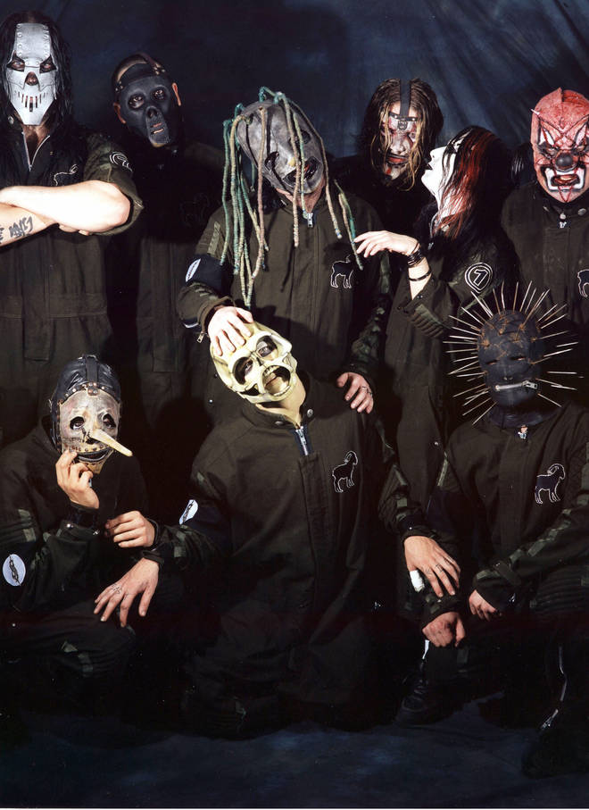 The band are known for wearing masks