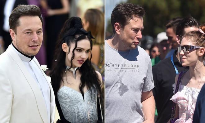 """Musk says the pair are """"semi-separated""""."""