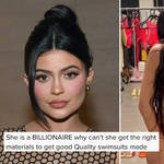 Fans are not impressed with Kylie's swimwear