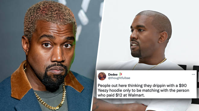 Kanye West roasted by fans over $90 Yeezy Gap hoodie