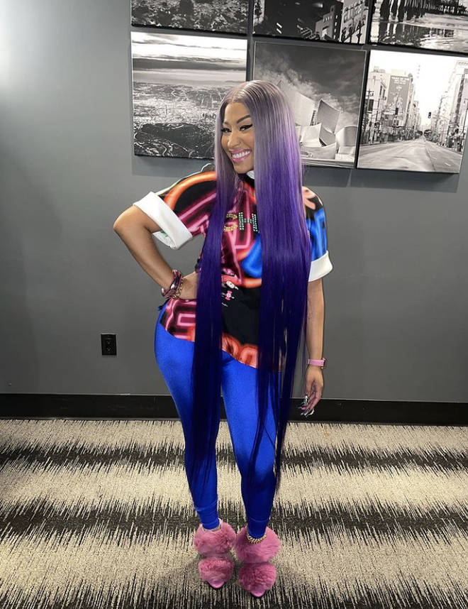 Nicki Minaj was chosen by 50 Cent as a person who he would love to collaborate with in a rom-com.