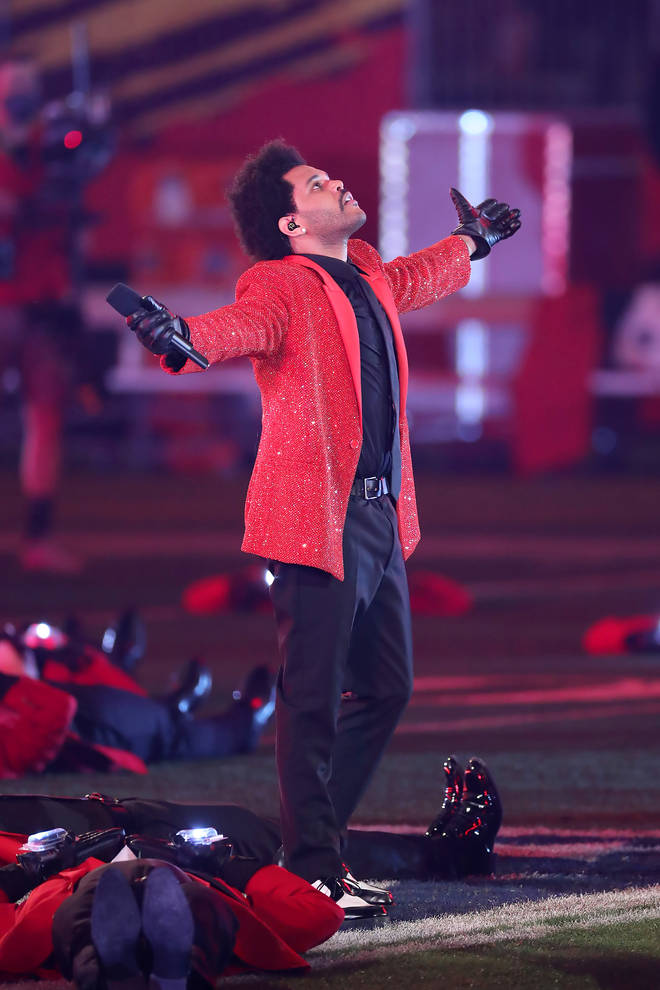 The Weeknd previously performed at the Super Bowl