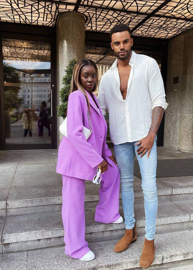 Kaz and Tyler came in fourth place in Love Island 2021