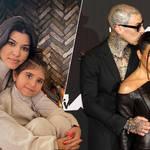 Kourtney Kardashian gave Penelope a Travis Barker-inspired makeover