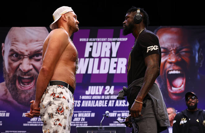 Tyson Fury vs Deontay Wilder 3 is taking place this weekend