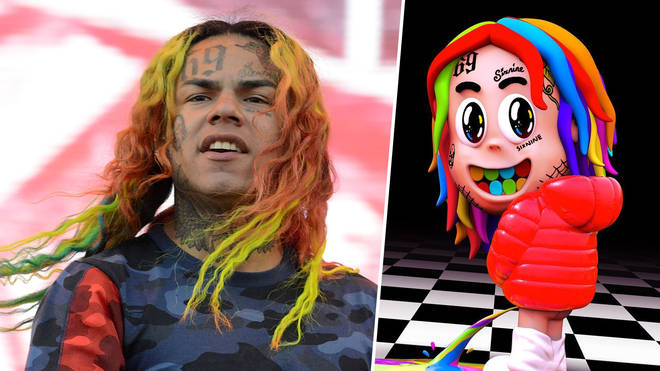 Tekashi 6ix9ine didn't shout out his former crew on his new album.