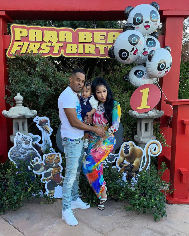 Nicki and her husband, Kenneth Petty, celebrated their son's first birthday with a star-studded Kung Fu Panda-themed celebration.