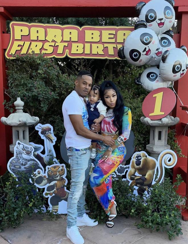 Nicki Minaj celebrated her son's first birthday with husband Kenneth Petty