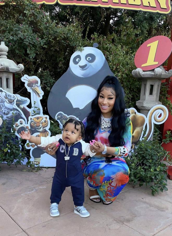 Nicki Minaj's son just marked his first birthday