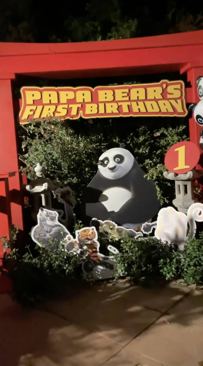 Nicki Minaj threw a Kung Fu Panda-themed party for her son