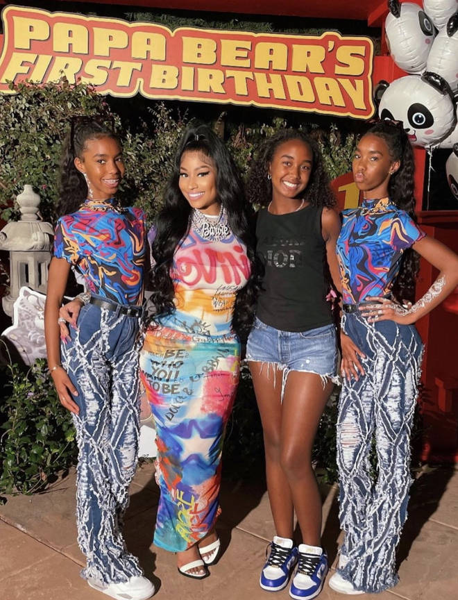 P Diddy's daughters attended the birthday party