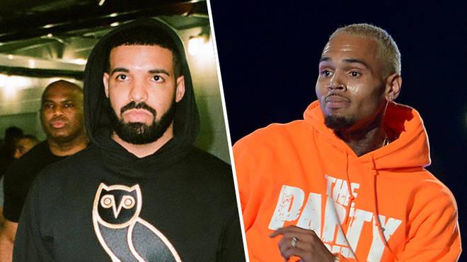 Drake and Chris Brown