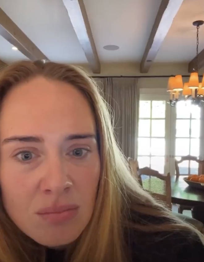 Adele engaged with her fans in a Q&A on Instagram Live on Saturday (9th Oct).