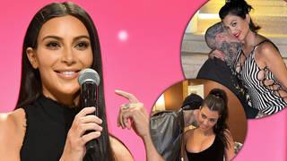 Kim Kardashian savagely trolls sister Kourtney's PDAs with BF Travis Barker