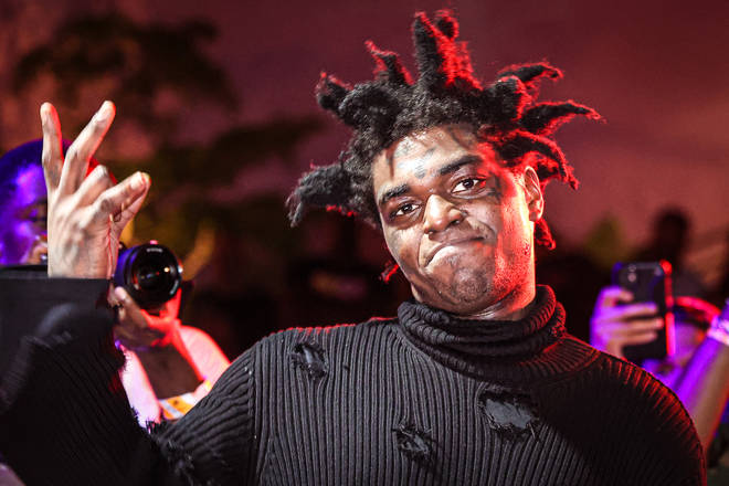 Kodak Black has confused fans on Twitter after viral video shows him grabbing his mother's behind.