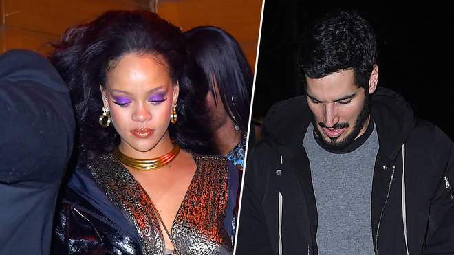 The 'Wild Thoughts' singer and her billionaire boyfriend stepped out in Santa Monica.