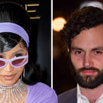 Cardi B and Penn Badgley: Netflix's 'You' star and rappers' relationship timeline