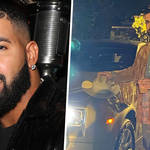 Inside Drake's 35th Narcos-themed birthday party in Los Angeles