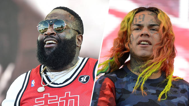 Rick Ross took aim at the incarcerated rapper on 'What's Free'