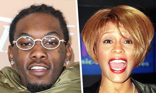 Migos raper Offset was a backing dance for Whitney Houston as a child