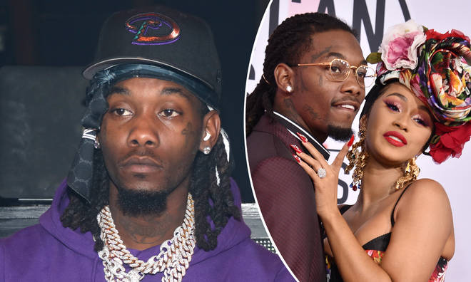 Offset posted a tweet about Cardi following their shock split.