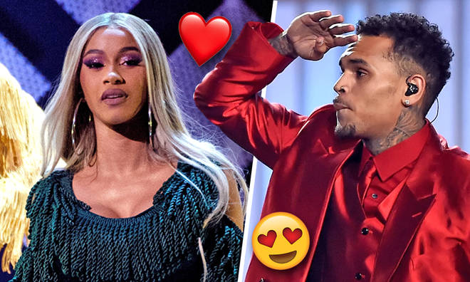 Chris Brown 'trying to date' Cardi B following Offset split