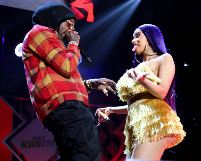 Cardi B and Offset broke up last week.