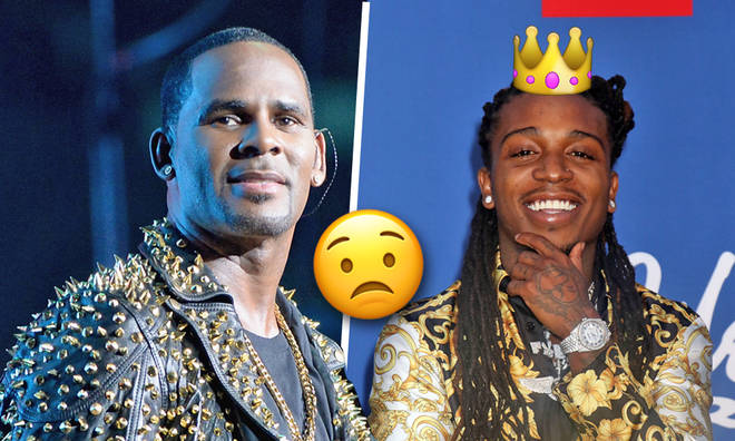 R Kelly trolled Jacquees over his claim of being the 'King Of R&B'