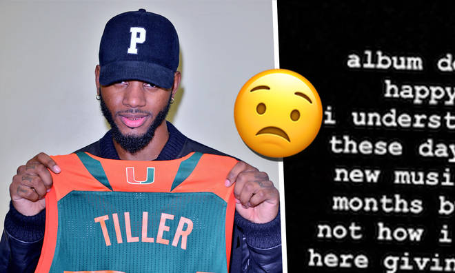 Bryson Tiller delays his album as fans issue him with ultimatums