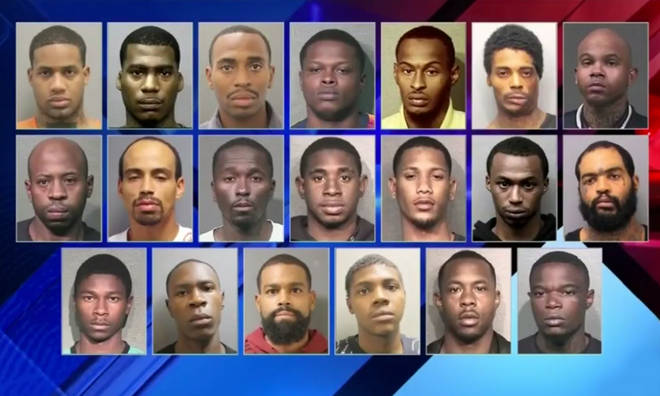 NFL Cartell Bo rap video accidentally gets 20 men arrested