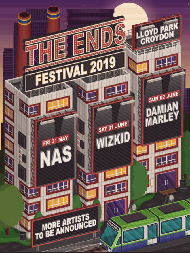 The Ends Festival is coming to Croydon in 2019.