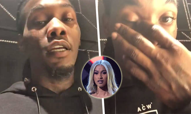 Offset apologises to Cardi B in Instagram video