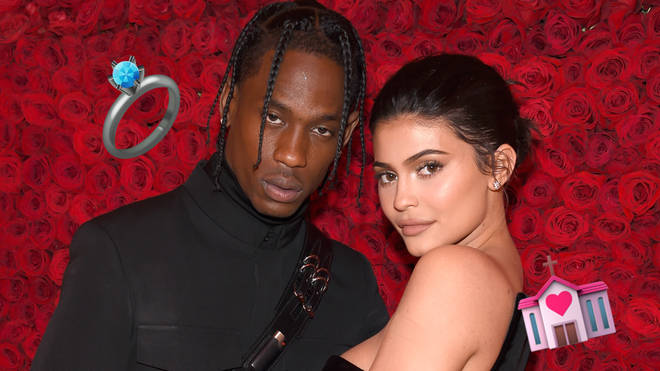 Travis Scott finally revealed the truth behind those ongoing Kylie Jenner marriage rumours.