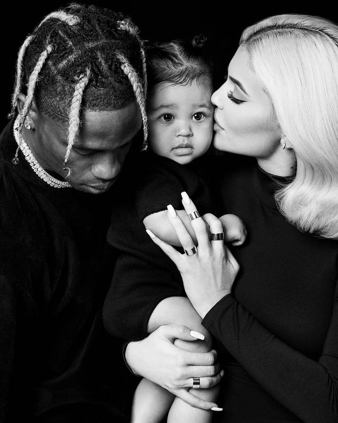 Kylie gave birth to baby Stormi back in February.