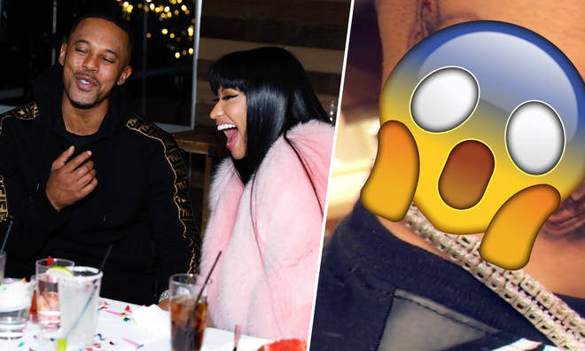 Nicki Minaj's boyfriend Kenneth Petty inked his love for her forever.