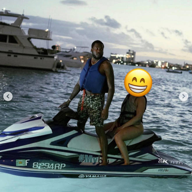 Meek Mill shared a picture with his new girlfriend