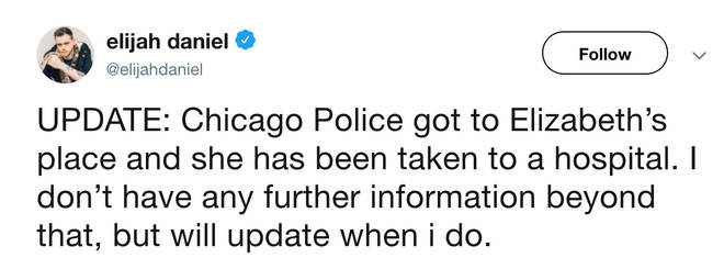 Cupcakke's friend Elijah Daniel gace fans an update about the rapper