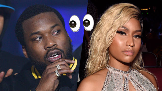 Meek Mill took aim at the 'Queen' rapstress.