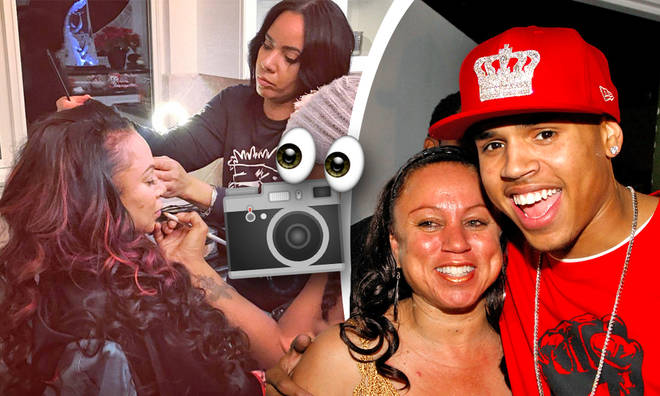 Chris Brown's mum Joyce stuns fans with new photoshoot