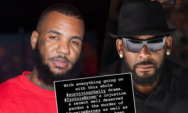 The Game has spoken out regarding the disgraced singer's recent controversy.